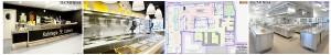 Proyectos de Hostelería y Alimentción realizados por Tecnifrisa S.A.